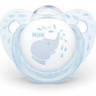Пустышка силиконовая «Nuk Baby Blue» размер 1.