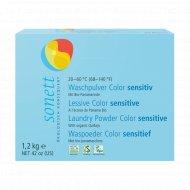 Стиральный порошок «Sonett» Sensitive для цветных тканей, 1.2 кг.