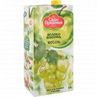Сок «Сады Придонья» яблочно-виноградный, 2 л