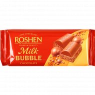Шоколад молочный «Roshen» пористый, 85 г.