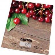 Кухонные весы«Centek» CT-2462, Вишня