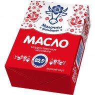 Масло сладкосливочное «Малочны фальварак» несоленое 82.5%, 160 г.