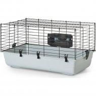 Клетка для морских свинок «Ambiente 80» чёрная.