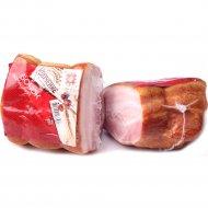 Продукт из свинины «Бочок домашний» копчено-вареный, 1 кг., фасовка 0.25-0.3 кг
