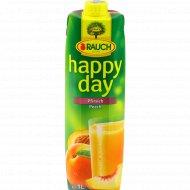 Нектар персиковый «Happy day» с мякотью, 1 л.