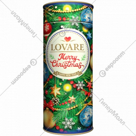 Чай черный «Lovare» Merry Christmas Happy New Year, 100 г.