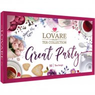 Набор чая «Lovare» Great Party, 18 видов, 90х1.7 г
