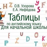 Книга «Таблицы по английскому языку для начальной школы».