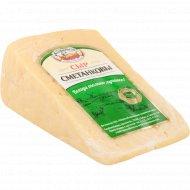 Сыр «Сметанковы» 50%, 1 кг, фасовка 0.4-0.5 кг