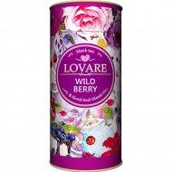 Чай черный «Lovare» с ароматом лесных ягод «Дикая ягода», 80 г.