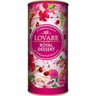 Напиток чайный «Lovare» с ароматом вишни «Королевский десерт», 80 г.