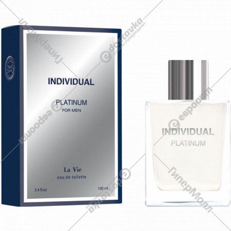 Мужская туалетная вода «La Vie» Individual Platinum 100 мл.