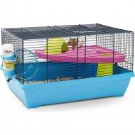 Клетка «Peggy» для грызунов и мелких животных, голубой.