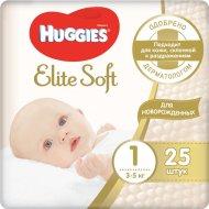 Подгузники «Huggies» Elite Soft hfpvth 1, 3-5 кг, 25 шт