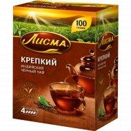 Чай черный «Лисма» крепкий, мелкий листовой, 100 г.
