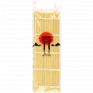 Циновка для роллов бамбуковая 24х24 см.