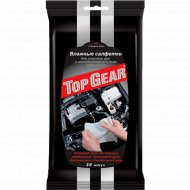 Салфетки влажные «Top Gear» антибактериальные, для рук, 30 шт.