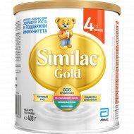 Детское молочко «Similac gold» 4, 400 г.