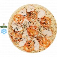 П/ф пицца от Шефа «Кисло-сладкий цыпленок» замороженная, 1/500