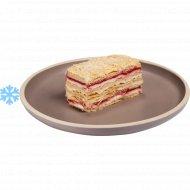 Пирожное «Наполеон малиновый» замороженный, 100  г