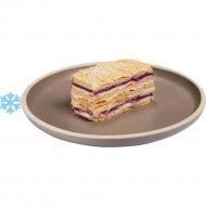 Пирожное «Наполеон черничный» замороженный, 100  г