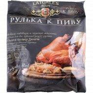 Продукт из свинины мясной «Рулька к пиву» вареный, 1 кг., фасовка 0.45-0.65 кг