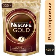 Кофе растворимый «Nescafe Gold» с добавлением жареного молотого, 320 г