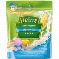 Каша «Heinz» кукурузная, молочная с Омегой-3, 200 г.