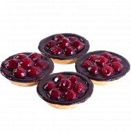Пирожное «Вишневая корзинка» 4 шт по 100 г.