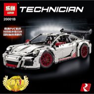 Конструктор «Porsche 911 GT3 RS» белый, 20001B.