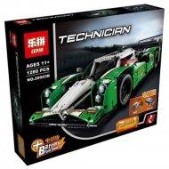 Конструктор «Зеленый гоночный автомобиль» 20003B.