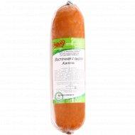 Колбаса варено-копченая «Восточная с сыром Халяль» 1 кг., фасовка 0.3-0.4 кг