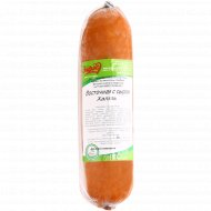 Колбаса варено-копченая «Восточная с сыром Халяль» 1 кг.