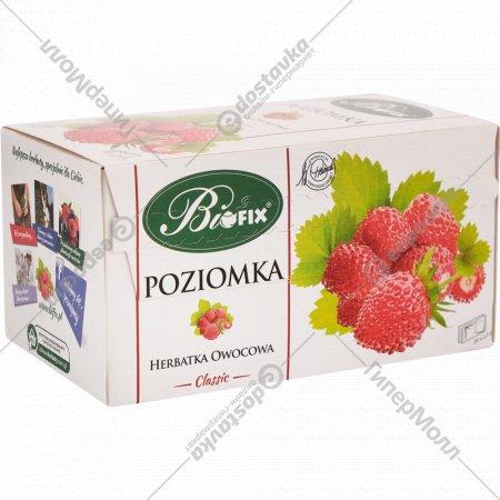 Чайный напиток «Bifix» земляника, 25 пакетиков х 2 г.