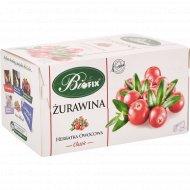 Чайный напиток «Bifix» клюква, 25 пакетиков х 2 г.