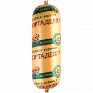 Изделие вареное мясное «Мортаделла Халяль» высшего сорта, 1 кг., фасовка 0.55-0.65 кг