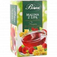 Чайный напиток фруктовый «Biofix» малина с липой, 20х2 г.