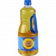 Масло подсолнечное «Золотая семечка» рафинированное, 1.8 л.