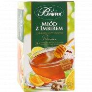 Чайный напиток фруктовый «Biofix» медово-имбирный, 20х2 г.