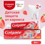 Зубная паста «Colgate»Доктор заяц, со вкусом клубники, 50 мл.