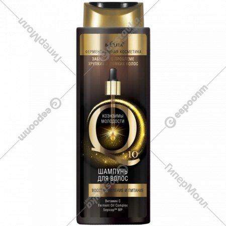 Шампунь для волос «Коэнзимы молодости Q10» 400 мл.