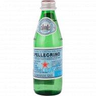 Вода минеральная «S. Pellegrino» газированная, 0.25 л.