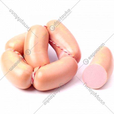 Сардельки «Докторские» высшего сорта, 1 кг., фасовка 0.5-0.6 кг