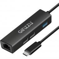 USB-хаб «Ginzzu» GR-762UB