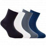 Носки детские «Tip-Tot» темно-серые, размер 18.