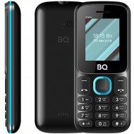 Мобильный телефон «BQ» Step, BQ-1848, черный/голубой