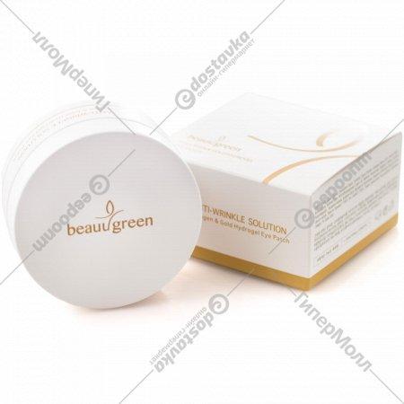 Гидрогелевые патчи «Collagen & Gold Beauu Green» для глаз, 60 шт.