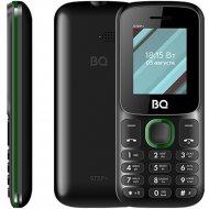 Мобильный телефон «BQ» Step, BQ-1848, черный/зеленый