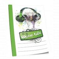 Блокнот «My music life» 02143.