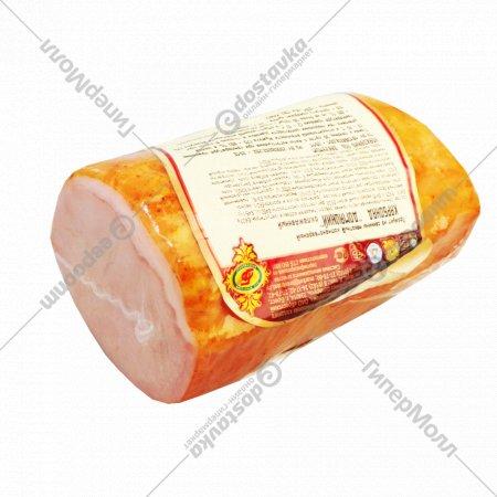 Карбонад «Домашний» копчёно-варёный 1 кг, фасовка 0.4-0.5 кг